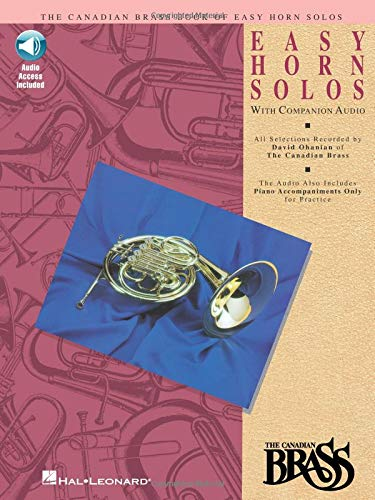 9780793572502: Canadian brass book of easy horn solos cor+CD: 1