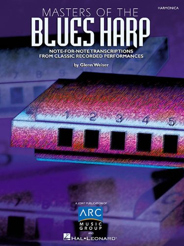 9780793572717: Masters of the Blues Harp: Note-For-Note Transcriptions from Classic Recorded Performances