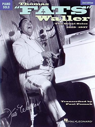 9780793572793: Thomas Fats Waller: The Great Solos, 1929-1937