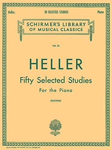 9780793572953: 50 Selected Studies (from Op. 45, 46, 47): Piano Technique (Piano Method) (Schirmer's Libray of Musical Classics, Vol. 24)