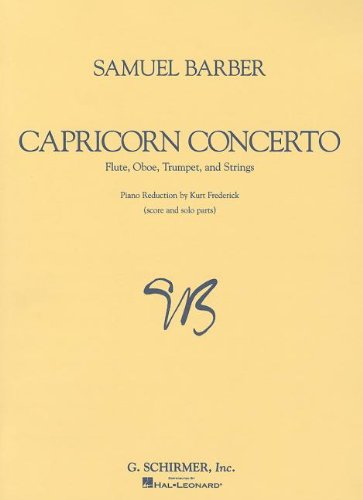9780793573172: Capricorn Concerto: Score and Parts