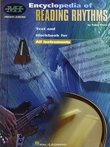 9780793573790: Encyclopedia of Reading Rhythms: Text and Workbook for All Instruments
