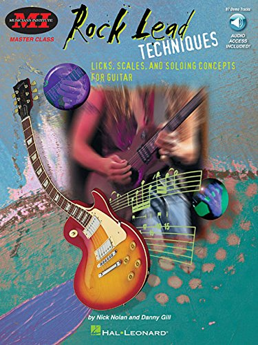 9780793573806: Rock Lead Techniques: Techniques, Scales and Fundamentals for Guitar (Musicians Institute)
