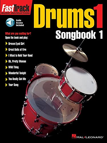 9780793574162: FastTrack Drums Songbook 1 - Level 1 (Book & Online Audio) (Fasttrack Series)