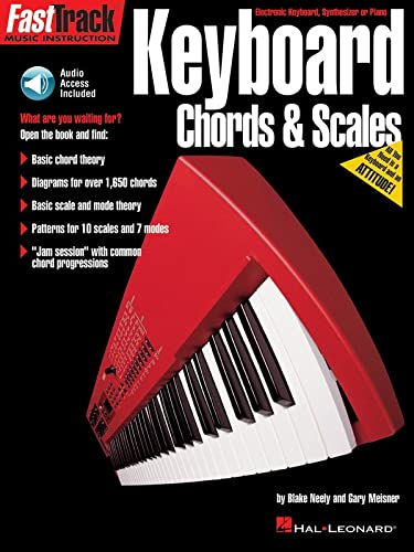 9780793574186: Keyboard Chords & Scales Book (Fasttrack Series)