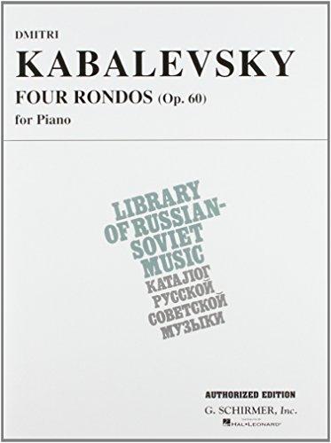 9780793574209: 4 Rondos, Op. 60 (Vaap Edition): Piano Solo