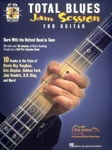 9780793574612: TOTAL BLUES JAM SESSION FOR GUITAR BK/CD TOTAL ACCURACY