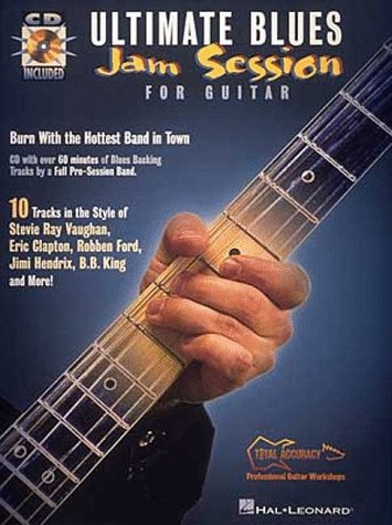 9780793574629: Ultimate Blues Jam Session for Guitar: Total Accuracy Play-Along Tracks