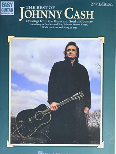 9780793575855: The Best of Johnny Cash: Easy Guitar With Notes & Tab