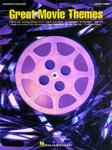 9780793575985: Great Movie Themes: Intermediate Piano Duet