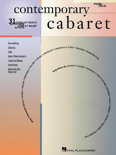 9780793576746: Contemporary Cabaret: 31 Songs in Today's Repertoire Sung by Major Artists