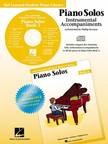 Piano Solos Book 3 - CD: Hal Leonard Student Piano Library: Keveren, Phillip