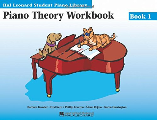 9780793576876: Piano Theory Workbook Book 1: Hal Leonard Student Piano Library