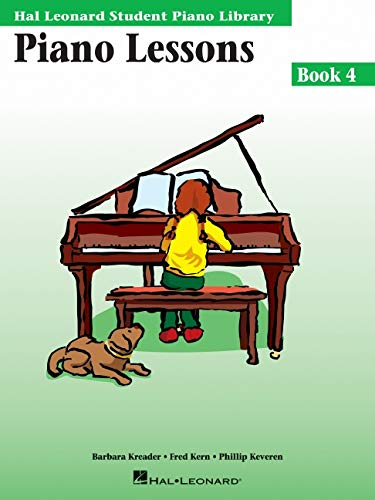 9780793576906: Piano Lessons, Book 4 (Hal Leonard Student Piano Library)