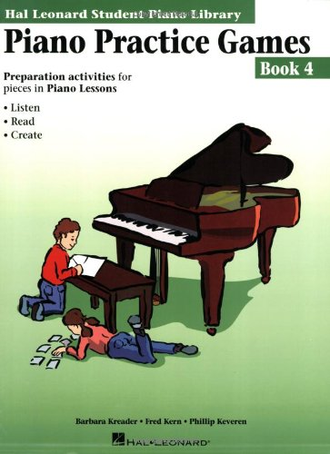 9780793576913: PIANO PRACTICE GAMES BOOK 4 HLSPL (Hal Leonard Student Piano Library)