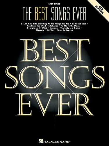 9780793577392: The Best Songs Ever: 71 All-Time Hits