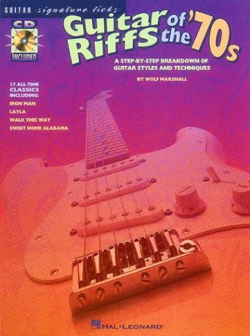 9780793577606: Guitar Riffs of the '70s