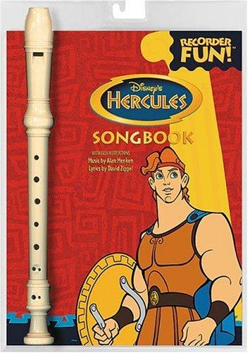 9780793577682: Disney's Hercules: Recorder Fun! : Songbook
