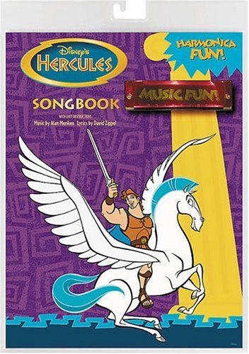 9780793577712: Disney's Hercules: Harmonica Fun! : Songbook