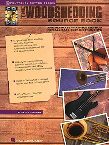 Woodshedding Source Book Bass Clef: De Cosmo, Emile