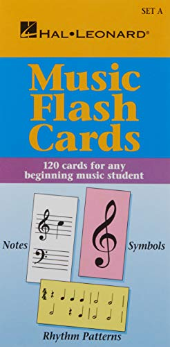 9780793577750: Music Flash Cards - Set A: Hal Leonard Student Piano Library