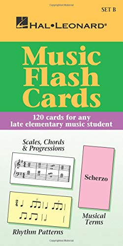 9780793577767: Music Flash Cards set B