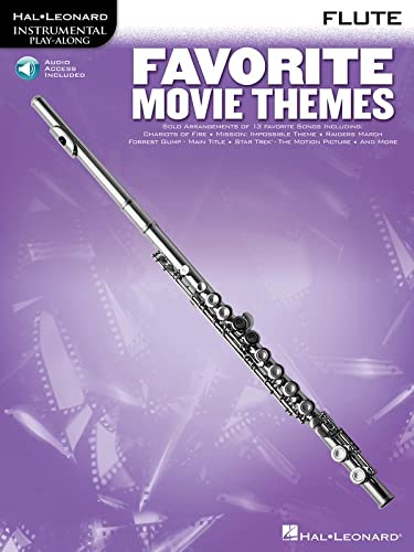 9780793577873: Favorite Movie Themes: Flute Play-Along Book with Online Audio