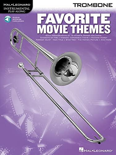 Favorite Movie Themes - Trombone Bk/online audio: Hal Leonard Corp.