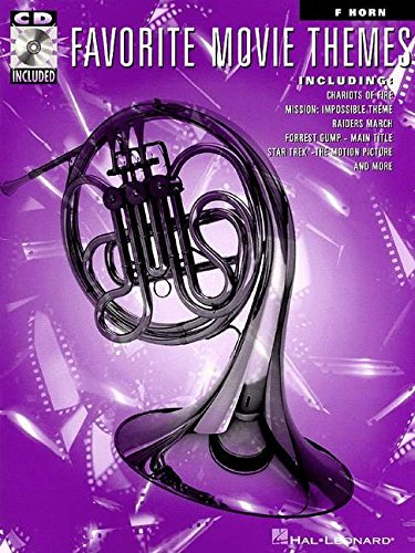 9780793577927: FAVORITE MOVIE THEMES FRENCH HORN BK/CD
