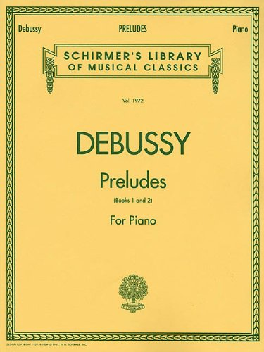 9780793578726: Debussy: Preludes for Piano Book 1 and 2