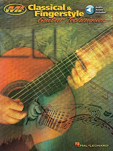 9780793580453: Classical & Fingerstyle Guitar Techniques (Musicians Institute Master Class) Book & Online Audio