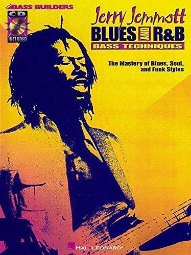 9780793581146: JERRY JEMMOTT BLUES AND R&B  BASS TECHNIQUES BK/CD (Bass Builders)