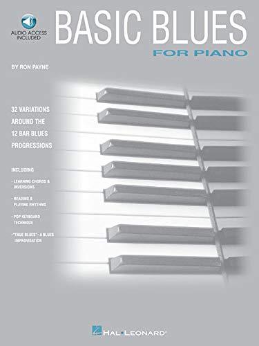 Basic Blues for Piano (Piano Method): Ron Payne