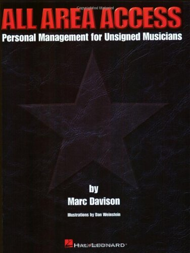 9780793581344: All Area Access: Personal Management for Unsigned Musicians