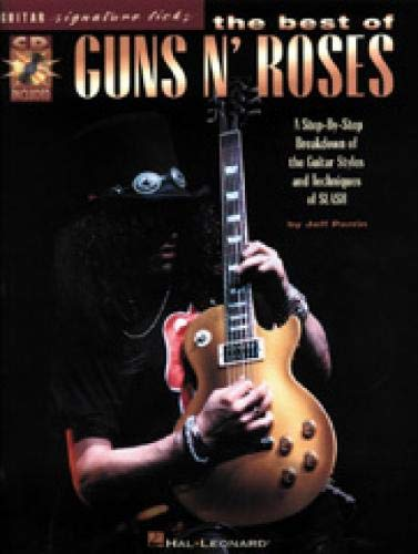 9780793581573: The Best of Guns N' Roses (Guitar Signature Licks) Bk/online audio