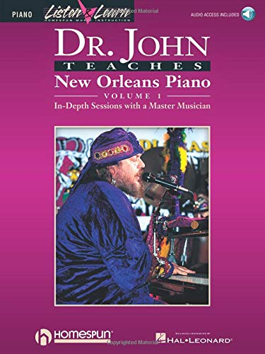 9780793581702: Dr. John Teaches New Orleans Piano - Volume 1 (Listen & learn. Piano)