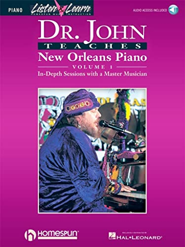 9780793581702: Dr. John Teaches New Orleans Piano - Volume 1