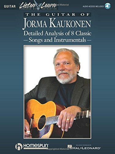 9780793581764: The Guitar of Jorma Kaukonen: Detailed Analysis of 8 Classic Songs and Instrumentals (Listen & Learn) Bk/Online Audio