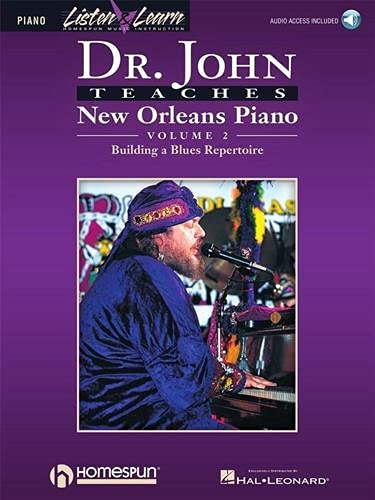 9780793581771: Dr. John Teaches New Orleans Piano - Volume 2