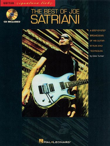 9780793582181: The Best of Joe Satriani (Guitar Signature Licks)
