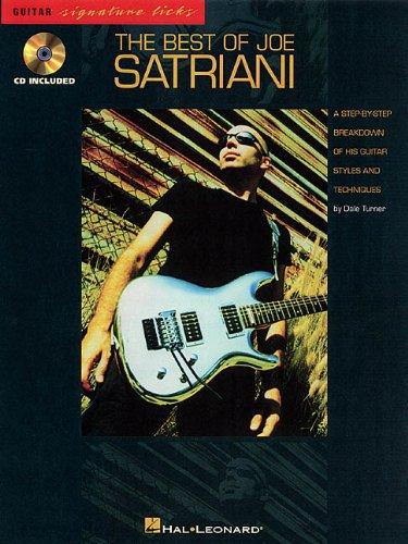 9780793582181: The Best of Joe Satriani (Guitar Signature Licks)