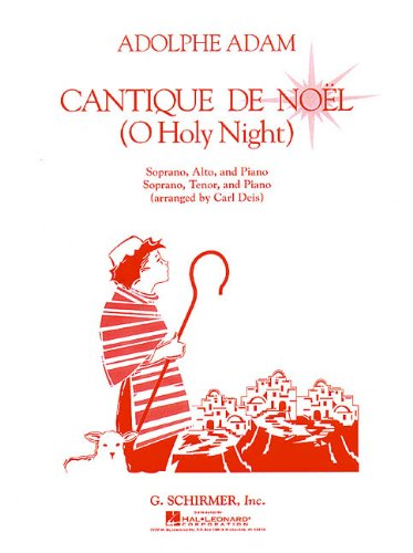 9780793582754: Cantique de Noel (O Holy Night): Vocal Duet