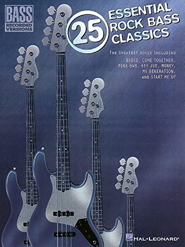 9780793582808: 25 Essential Rock Bass Classics