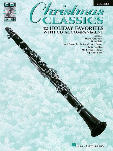 9780793582914: Christmas Classics Clarinet 12 Holiday Favorites BK/CD