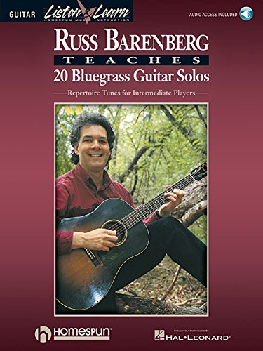 9780793583355: Russ Barenberg Teaches 20 Bluegrass Guitar Solos: Repertoire Tunes for Intermediate Players (Listen & Learn)