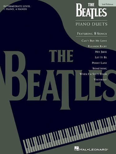 9780793583386: The Beatles Piano Duets: Intermediate Level, 1 Piano, 4 Hands