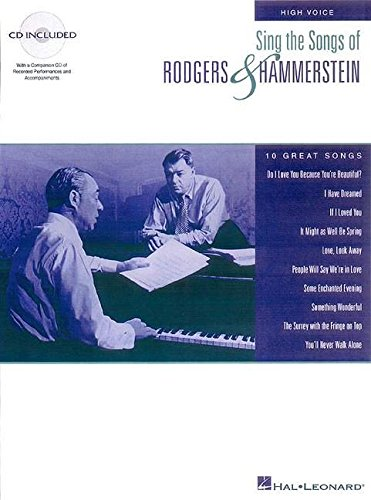 9780793583522: Sing the Songs of Rodgers and Hammerstein: High Voice