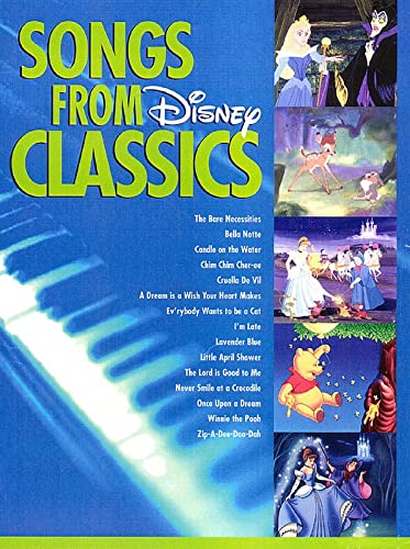 9780793583546: Disney Classics Songs From