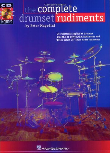 9780793583720: The Complete Drumset Rudiments