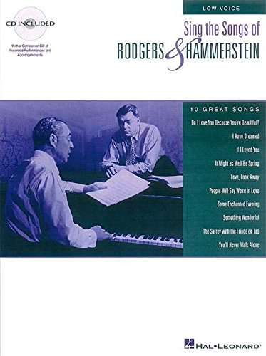 9780793583744: Sing the Songs of Rodgers & Hammerstein: Low Voice